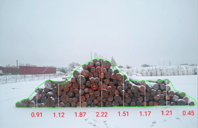 Log Pile Measurement