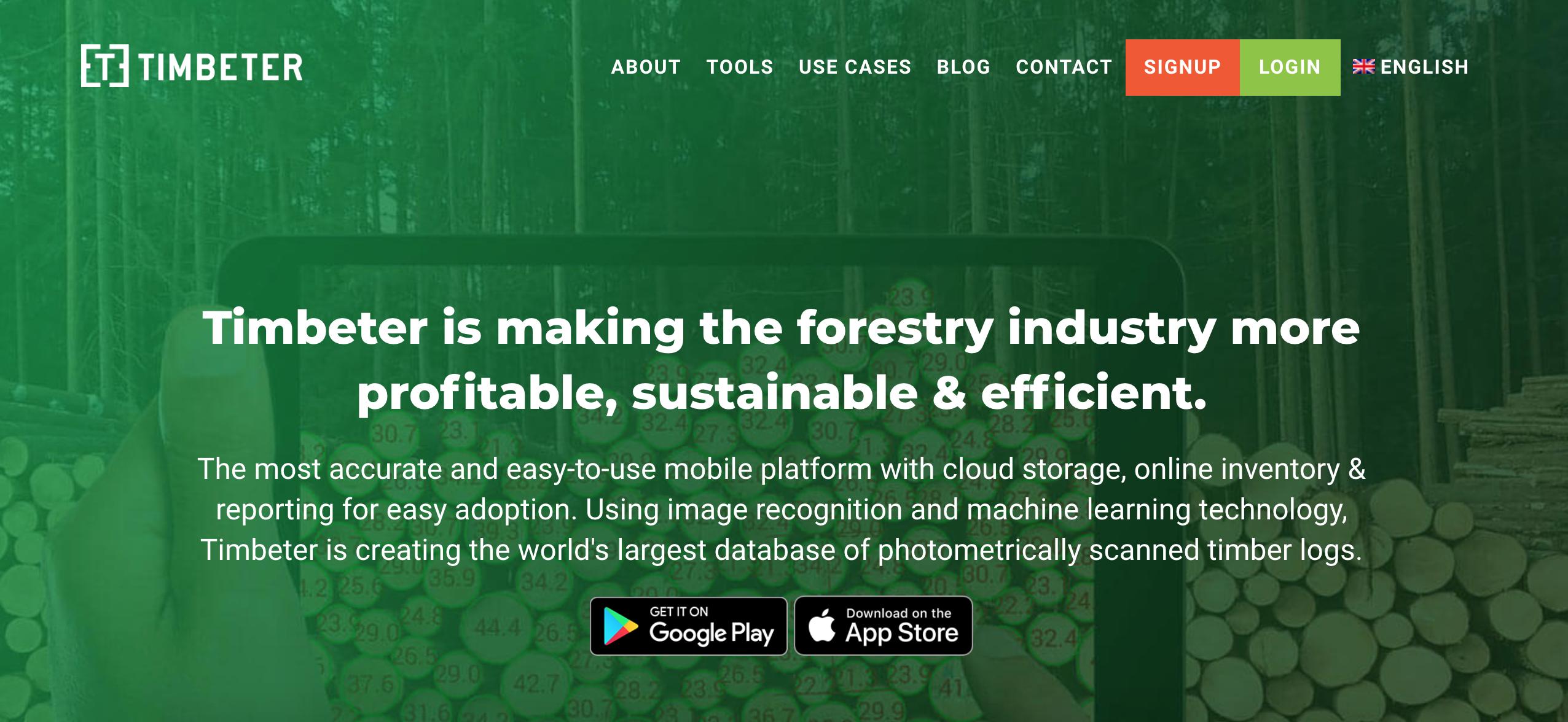 Timbeter New Website