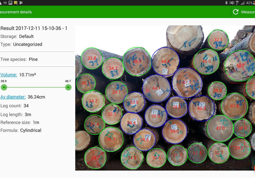 Timbeter-log-measurement-app-