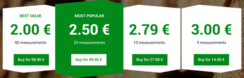 Timbeter Picture Based Pricing